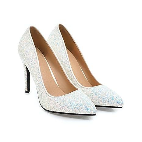 GTVERNH-Women'S Shoes/Scarpe/Donna/Tacco 10Cm Tacchi A Spillo Solo Scarpe Primavera E Autunno Lustrini Matrimonio Scarpe…