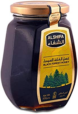 الشفاء عسل الغابه السوداء 500 غرام Amazon Ae