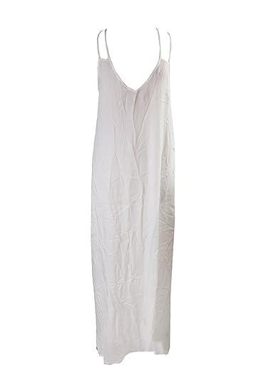 b3ea234af8d47 Raviya Laddder-Back Maxi Dress Cover-Up Women s Swimsuit white large ...