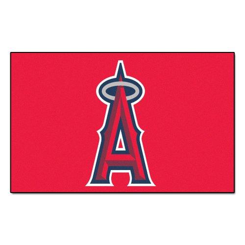 Football Los Angeles Rug - FANMATS MLB Los Angeles Angels Nylon Face Ultimat Rug