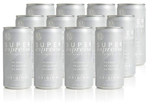 Kitu by SUNNIVA Original Super Espresso with Protein and MCT Oil, Keto Approved, 0g Sugar, 5g Protein, 40 Calories, 6 fl. oz, Pack of 12 by SUNNIVA SUPER COFFEE (Image #5)