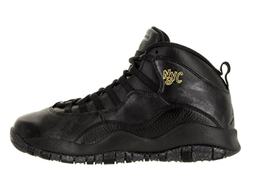 Nike Men's Air Jordan Retro 10 Basketball Shoes, Grey Noir