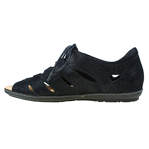 Earth Womens Plover Nero Nubuck 6 W