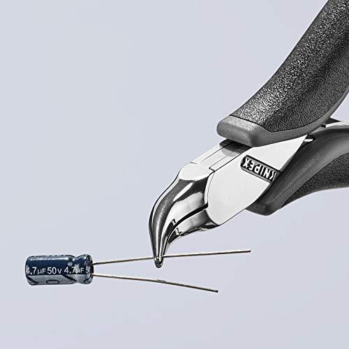 Knipex 35 42 115 ESD Elektronik-Greifzange f/ür feine Montagearbeiten