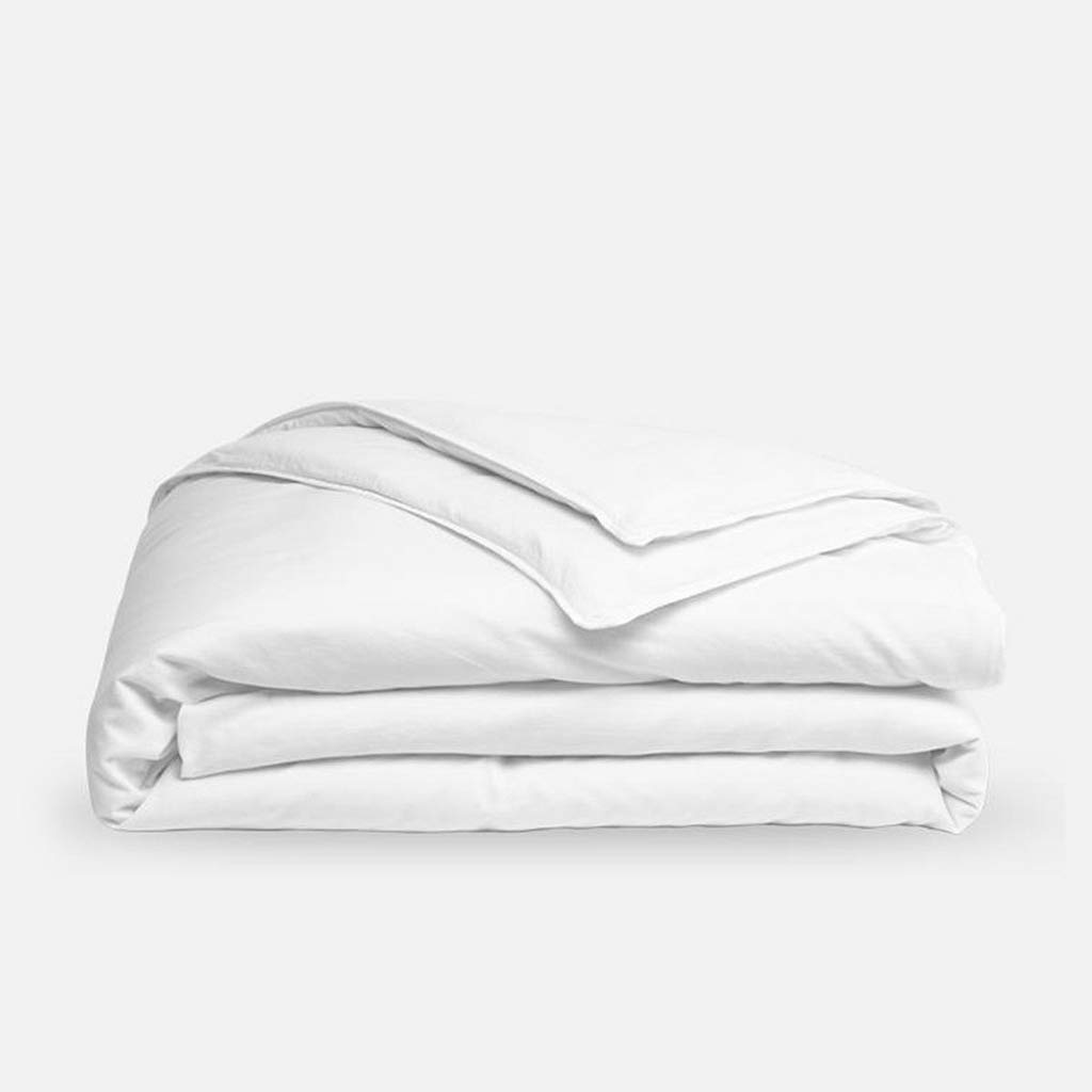 Luxus Linen Store 1 PC Duvet Cover Only King Size Solid White, Ultra Soft Double Brushed Microfiber Hotel Collection - Comforter Cover with Zipper Closure by The Great American Store