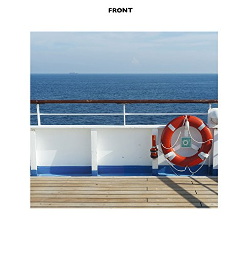 Cruise Ship Deck Backdrop (Double Wide) - Advanced Graphics Life Size Cardboard Cutout Standup (Drop Ship Programs)