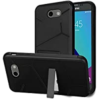 HR Wireless Cell Phone Case for Samsung - Black PC / Black TPU