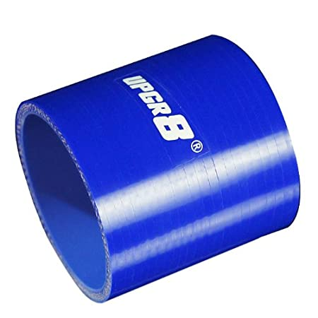 , Blue 102MM Upgr8 Universal 4-Ply High Performance Straight Coupler Silicone Hose 76mm Length 4.0