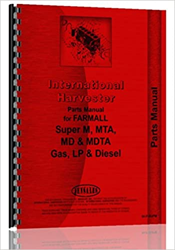Farmall Super M Tractor Parts Manual Farmall 0739718040120 Amazon