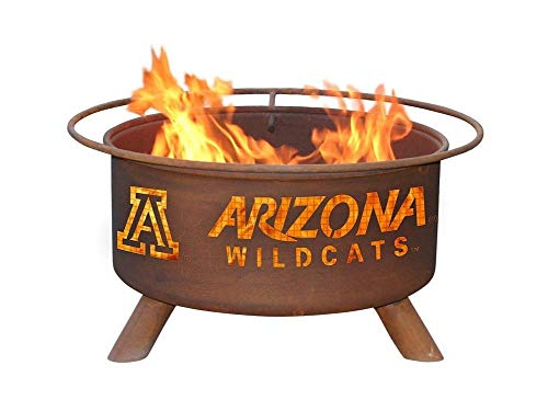 Arizona Wildcats Portable Steel Fire Pit Grill Arizona Wildcats Wildcat Ring