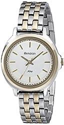Armitron Women's 75/5260SVTT Swarovski Crystal-Accented Two-Tone Bracelet Watch