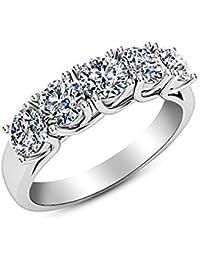 5b12e2a938b92 Women's Anniversary Rings | Amazon.com
