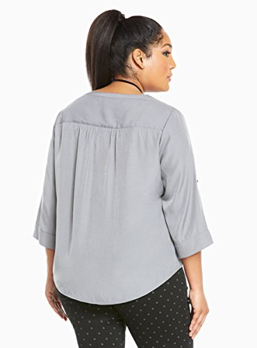Textured Rayon Pullover Top