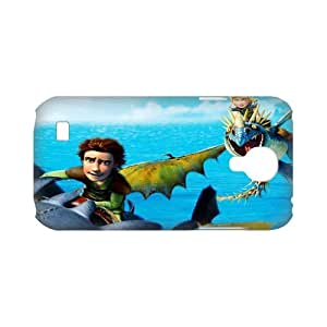 3D Print Classic Animated Film Series&How to Train Your Dragon Case Cover for SamSung Galaxy S4 mini i9192/i9198 - Personalized Hard Cell Phone Back Protective Case Shell-Perfect as gift