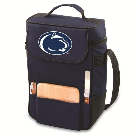 PICNIC TIME NCAA Penn State Nittany Lions Duet Insulated Wine and Cheese Tote with Team Logo ()