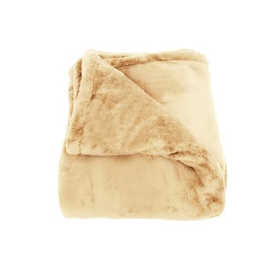 Woven Workz Oh So Soft King Blanket, Camel - Super soft Warm and cozy Perfect for monogramming - blankets-throws, bedroom-sheets-comforters, bedroom - 41BrLhxUJZL. SS570  -