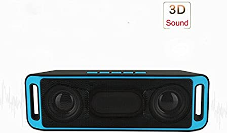 Amazon.com: Bluetooth Altavoces Sc208, fucan – Altavoz ...