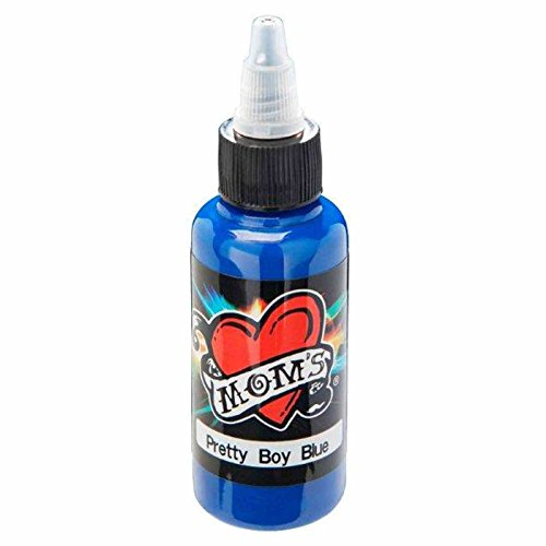 Boys Ink - PRETTY BOY BLUE Millennium Moms 1/2oz Tattoo Ink Mom's Millenium Milennium