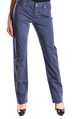 Liu Jo Mujer MCBI191123O Azul Algodon Pantalón