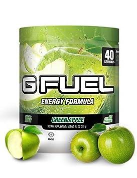 Gamma Enterprises G Fuel Nutrition Supplement, Green Apple, 40 Servings, 280 g