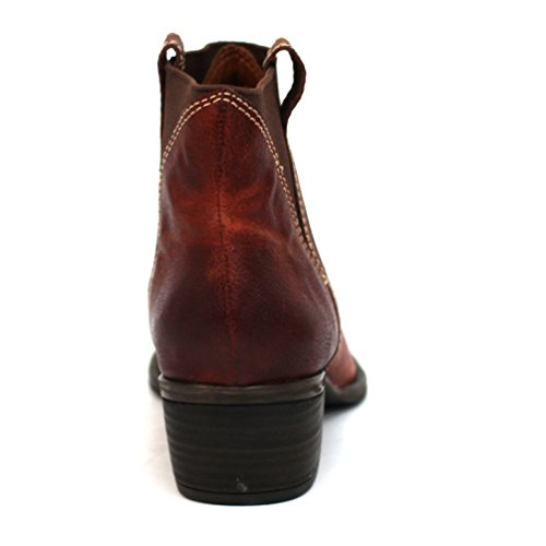Marca con diseño de estampado de botas de diseño vaquero Lucky de tobilleras con peso, UK 3, 5, con diseño de Liverpool CLUB £99 verde - Teracotta