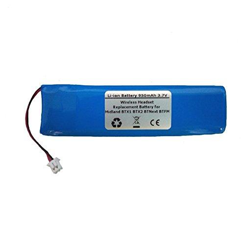 400mah 3 7v Li Polymer Replacement Battery For Logitech H800