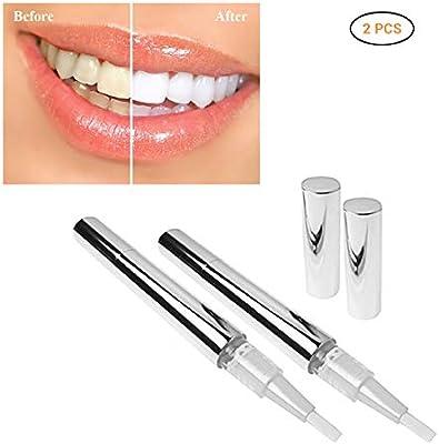 Blanqueamiento de Dientes Mallalah 2PCS Lápiz blanqueante para dientes de Teeth Lápiz Blanqueador Dental Dientes de Limpieza Profunda: Amazon.es: Salud y cuidado personal