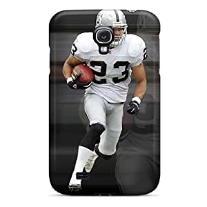 Perfect Oakland Raiders Cases Covers Skin For Galaxy S4 Phone Cases