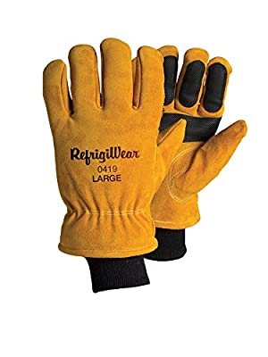 RefrigiWear Double Insulated Cowhide Gloves