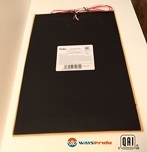 "12"" x 18"" RV 12V Camper Water Holding Tank Automatic Thermostat Heater Pad (12"" x18"" 1pack)"