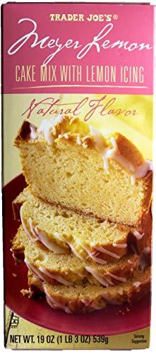 Meyer Lemon Cake Mix with Lemon Icing