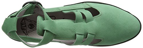 Fly London Women Edan275Fly, Sandalias al Tobillo Mujer Verde (Myntblack)