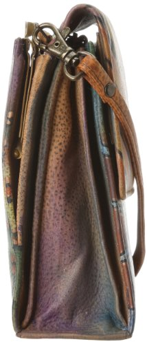 Bag Cross 412 Peacock Safari Anuschka Body gYtxWqq