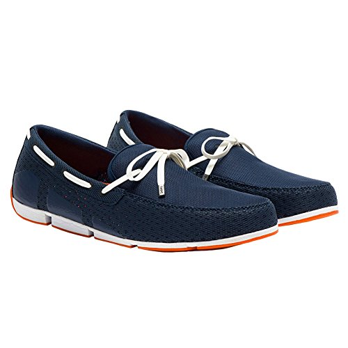 SWIMS Men's Navy Loafers Lace Breeze BB07qwPZ