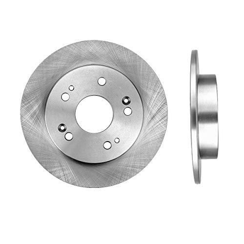CRK15018 REAR Premium Grade OE 259 mm [2] Rotors Set [ for Acura ILX Honda Civic Prelude ]