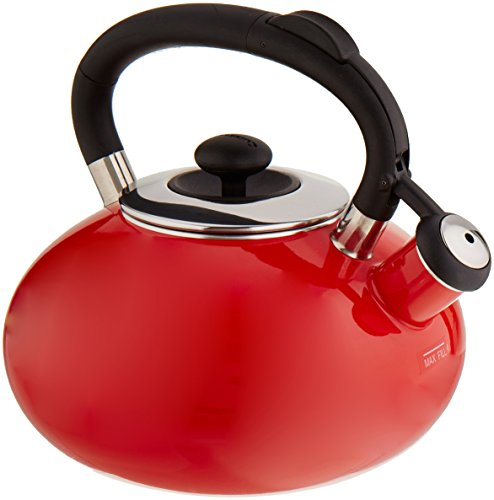 Red Classic Kettle - Cuisinart CTK-EOS5R Classic Indulgence Kettle, 2-Quart, Red