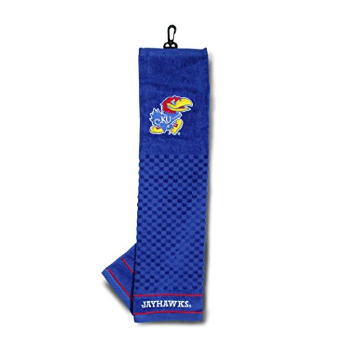 Team Golf University of Kansas Embroidered Golf (Kansas Jayhawks Embroidered Towel)
