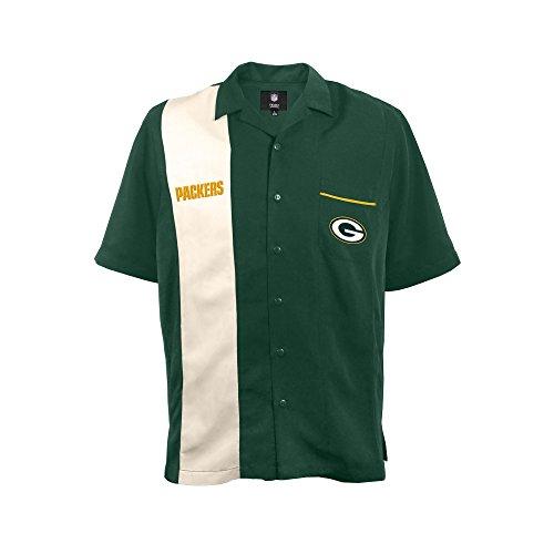 (NFL Green Bay Packers  Strike Men's Bowling Shirt, Plus, 4XL)