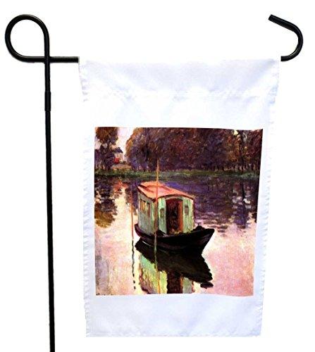 Rikki Knight Claude Monet Art The Studio Boat House or Ga...