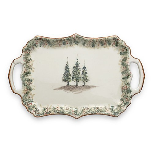 Christmas Tree Serving Trays
