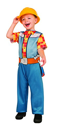 Bob The Builder Costume (Rubie's Costume Bob the Builder Value Costume, Small)