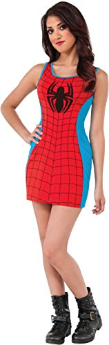 Marvel Costumes Women (Rubie's Costume Women's Marvel Universe Adult Spider-man Tank Dress, Multi, Small)