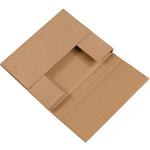 - Box Partners Multi Depth Bookfold Easy-Fold Mailers, 10 1/4