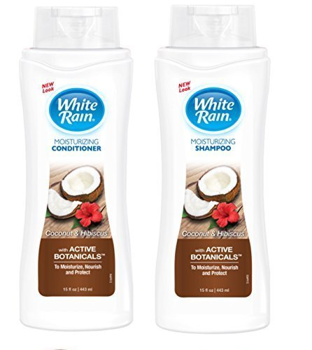 White Rain Coconut Hibiscus Shampoo and Conditioner Set 15oz ea