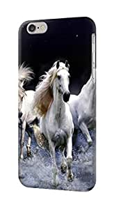 S0246 White Horse Case Cover for IPHONE 5C