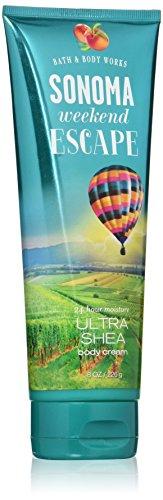 Vineyards Nectar - Bath & Body Works Ultra Shea Cream Sonoma Weekend Escape