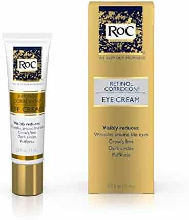 RoC Retinol Correxion Anti-Aging Eye Cream Treatment for Wrinkles, Crows Feet, Dark Circles, and Puffiness.5 fl. oz