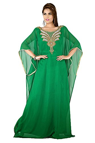 Gulf PalasFashion Trend Maxi robe caftan KKPF17109 femmes