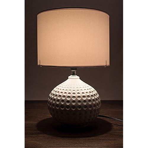 De Chevet 2 Pied En Lampe Lot Table Céramique Brubaker nwN0XZ8PkO