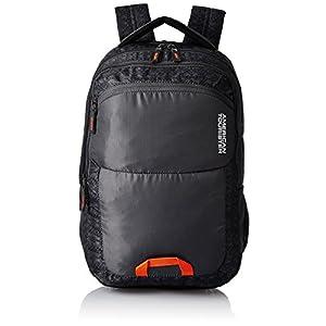 American Tourister Polyester 32 Ltrs Grey Laptop Backpack (AMT AERO Laptop BKPK 03 – Grey)